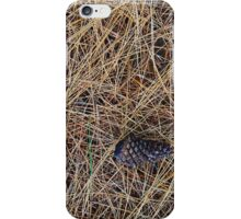 """Real Tree Design for Hunting & Shooting """"Pine Needles"""" #2 iPhone Case/Skin"""
