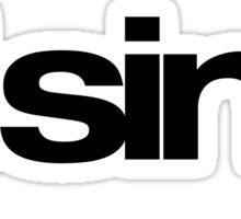 Sine Wave Sticker