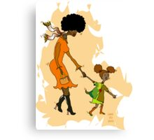 Mom! Come With Me! ~LMG 2013 Canvas Print