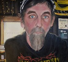 America The Working Poor: Portrait of Don, 2013 by Artist Antonia Posey