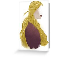 cersei; i will not cringe for them Greeting Card