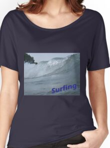 Surfing Women's Relaxed Fit T-Shirt