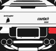 Lamborghini Countach Sticker