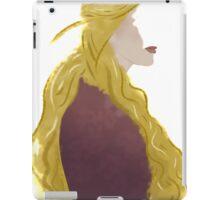 cersei; i will not cringe for them iPad Case/Skin