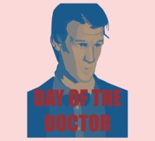 DAY OF THE DOCTOR! One Piece - Short Sleeve