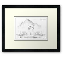 ©DA Angels IA Framed Print