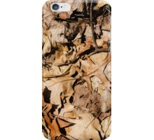 "Real Tree Design for Hunting & Shooting ""Leaves"" #4 iPhone Case/Skin"