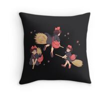 Kiki + Jiji Throw Pillow