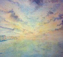 Early Morning towards Flamborough by Glenn Marshall