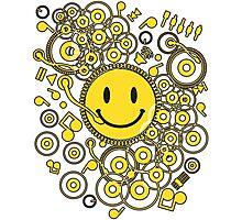 Happy_Music Photographic Print