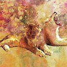 LIONESS ROAR by Tammera