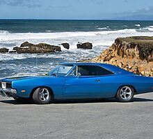 1969 Dodge Charger 'Muscle at Monterey' by DaveKoontz