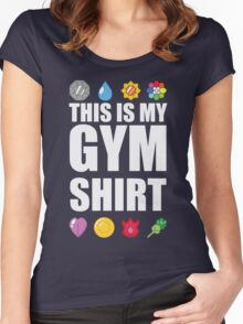Kanto Gym Shirt Women's Fitted Scoop T-Shirt