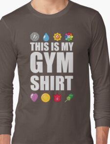 Kanto Gym Shirt Long Sleeve T-Shirt