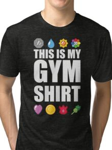 Kanto Gym Shirt Tri-blend T-Shirt