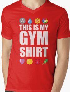 Kanto Gym Shirt Mens V-Neck T-Shirt