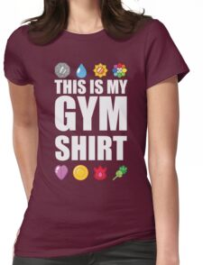 Kanto Gym Shirt Womens Fitted T-Shirt