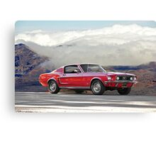 1968 Ford Mustang GT Canvas Print