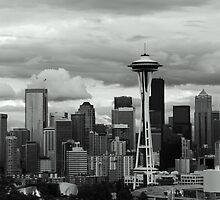Space Needle of Seattle by Garrick18