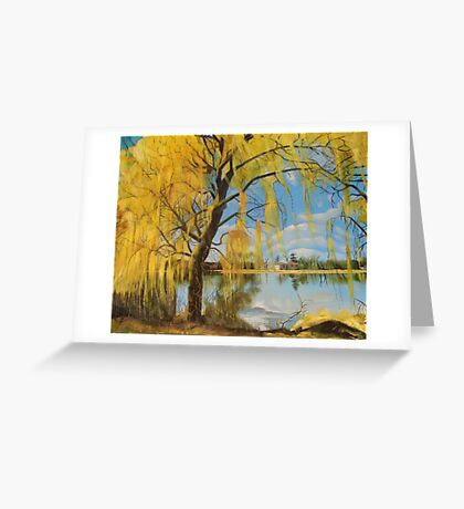The Weeping Willow, Summer 2013 Greeting Card