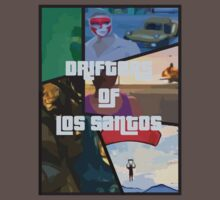 Gta 5 Dirfters of los santos T-Shirt by GamingMonkey11