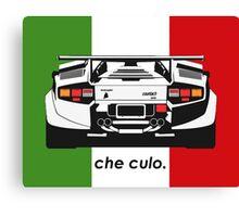 Che Culo - Lamborghini Countach Canvas Print