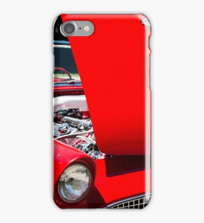 Thunderbird with Open Hood iPhone Case/Skin