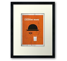 Clockwork Orange Film Poster Framed Print