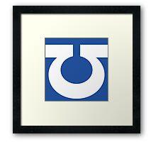 Ultramarine Symbol Framed Print