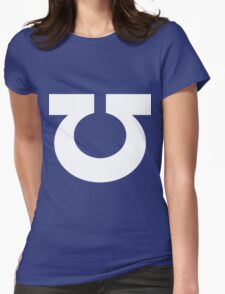 Ultramarine Symbol Womens Fitted T-Shirt