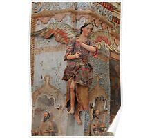 Angel at Mission San Xavier del Bac Poster