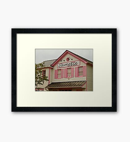 Sweetie Bakery Framed Print