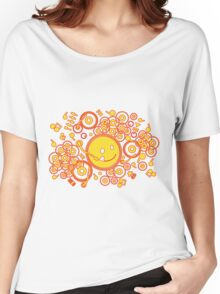 Happy_Music Women's Relaxed Fit T-Shirt
