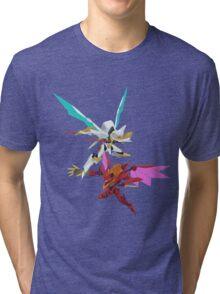 Lancelot v.s Guren  Tri-blend T-Shirt