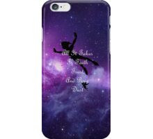 Faith and trust iPhone Case/Skin