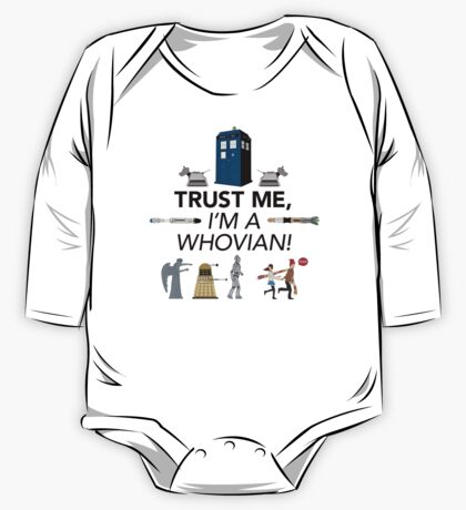Whovian One Piece - Long Sleeve