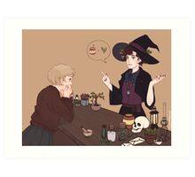 Femlock Witch Shop Art Print