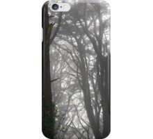 Mt Davidson Trees and Fog iPhone Case/Skin