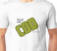 Let's play COD Unisex T-Shirt
