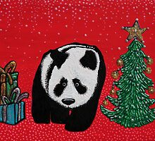 A Panda For Christmas by Laura Barbosa