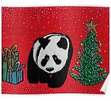 A Panda For Christmas Poster