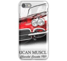 Corvette 1959 iPhone Case/Skin