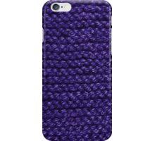 Keep Warm in Blue iPhone Case/Skin