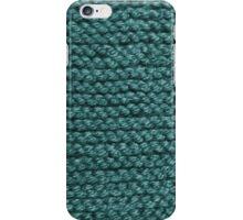 Keep Warm in Cyan iPhone Case/Skin