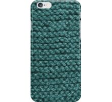 Keep Warm in Cyan iPhone Case/Skin