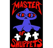 Master of Shuppets Photographic Print