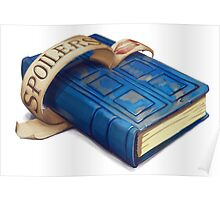 Spoilers, River Song's Tardis Journal Poster