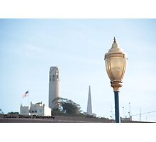 The Coit Tower In San Fransisco Photographic Print