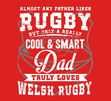 Rugby Dad Womens Fitted T-Shirt