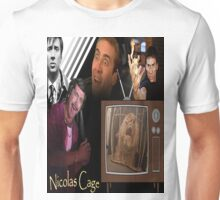 Nicolas Cage Montage Unisex T-Shirt